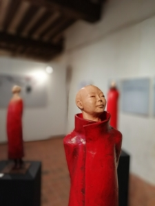 Sculpture de sandra Courlivant