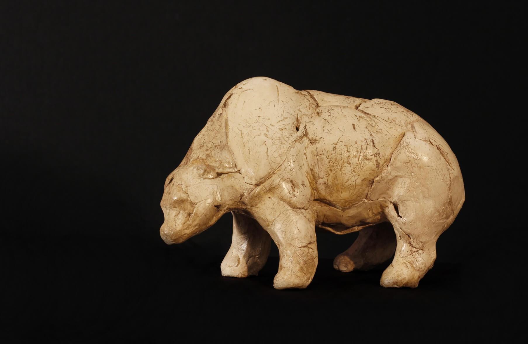 ours-chauvet-art parietal-grotte