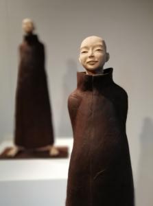 Sculpture de Sandra Courlivant : personnage
