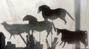 Raccourci vers la galerie Art pariétal : sculpture d'un cheval