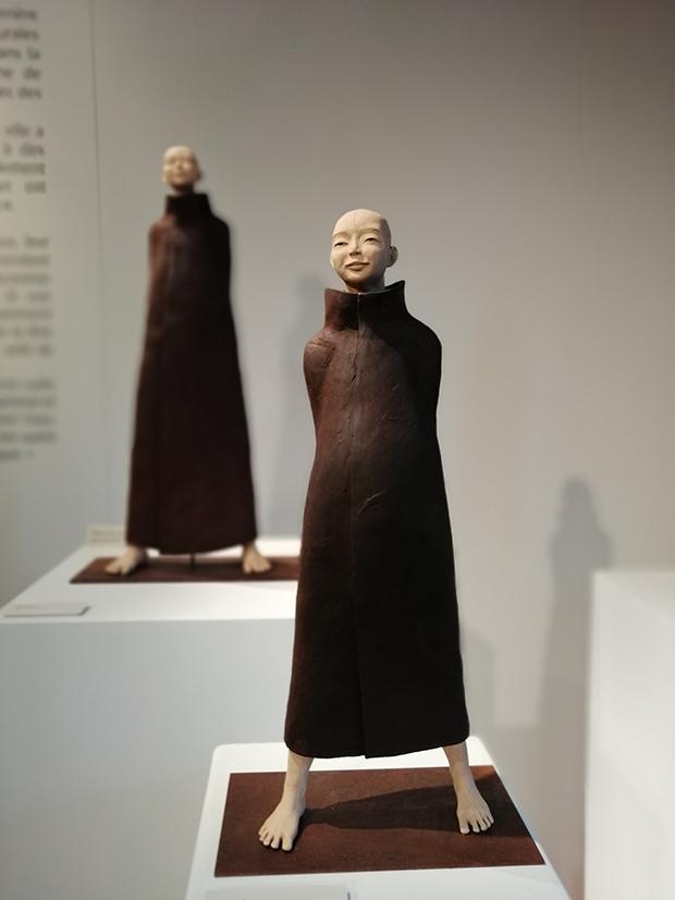 Sculpture en terre