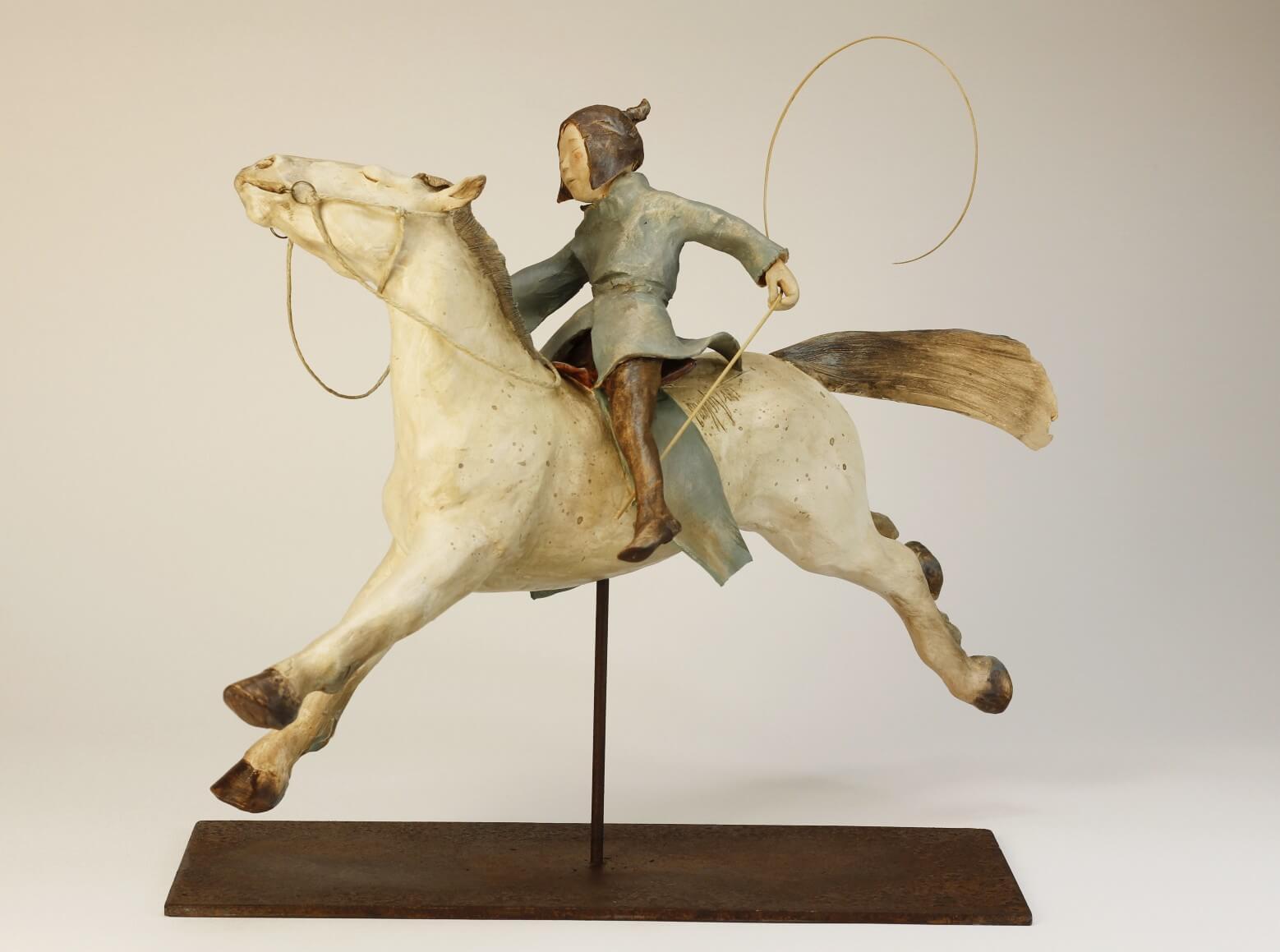 jeune- fille- cheval-sculpture