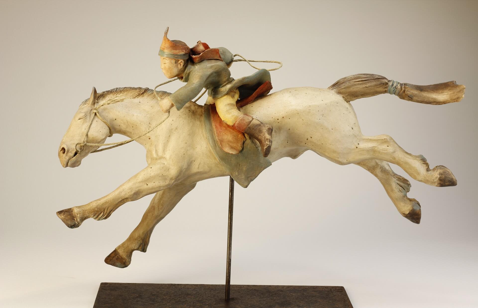 enfant-cheval-sculpture-mongolie